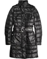 Belstaff | Black Brent Deluxe Quilted Down Coat | Lyst