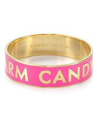 kate spade new york - Pink Idiom Bangle Sweeten The Deal - Lyst