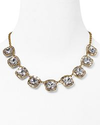 kate spade new york - White On The Town Short Necklace  - Lyst