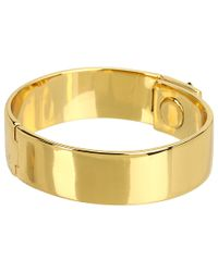 kate spade new york - Metallic Locked in Thin Bangle - Lyst