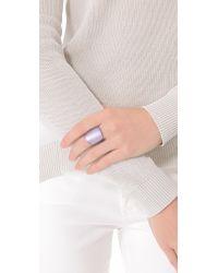 Alexis Bittar - Purple Block Ring - Lyst