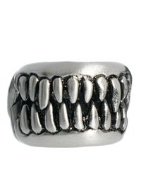 KR3W - Metallic Fang Ring for Men - Lyst