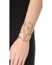 Pamela Love - Metallic Brass Mini Pentagram Cuff - Lyst