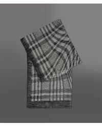 Giorgio Armani | Black Threaded Shawl | Lyst