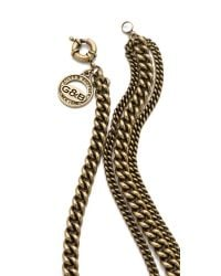 Giles & Brother - Metallic Encrusted Circe Necklace - Lyst