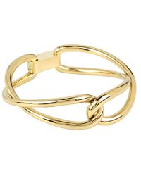 Michael Kors - Metallic Equestrian Luxury Love Twist Bangle - Lyst