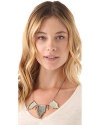 Pamela Love - Metallic Triple Empire Necklace - Lyst