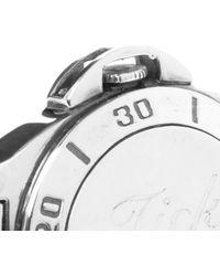 Tom Binns - Metallic Tick Tock Watch Cuff - Lyst