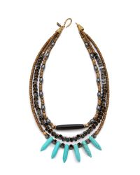 Vanessa Mooney | Multicolor Jordana Statement Necklace | Lyst