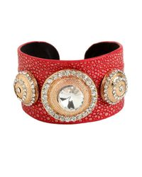 BaubleBar | Red Amazon Cuff | Lyst