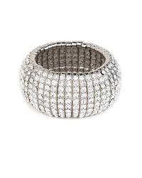 BaubleBar - Metallic Silver Disco Cuff - Lyst
