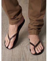 Ancient Greek Sandals - Brown Hero Sandals - Lyst