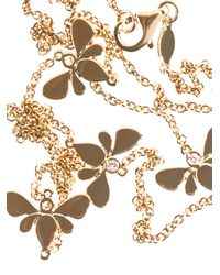 Kiki McDonough - Metallic Diamond and Gold Bee Necklace - Lyst