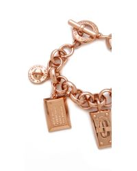 Marc By Marc Jacobs - Metallic Charm Bracelet - Lyst