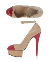 Charlotte Olympia - Natural Kiss Me Dolores Shoes - Lyst