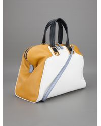 Fendi | White Twotone Tote Bag | Lyst