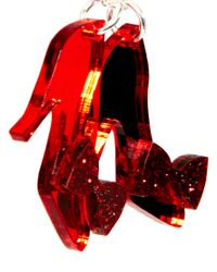 Tatty Devine | Red Ruby Slippers Necklace | Lyst