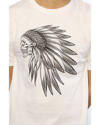Vans | The Headdress Tee in White for Men | Lyst