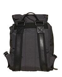 Dolce & Gabbana | Black Nylon Multi Pocket Backpack for Men | Lyst