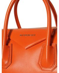 Givenchy | Orange Antigona Medium Bag | Lyst