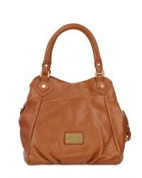 Marc By Marc Jacobs | Brown Fran Classic Q Leather Top Handle | Lyst