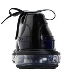 Prada - Blue Levitate Kiltie Balmoral for Men - Lyst