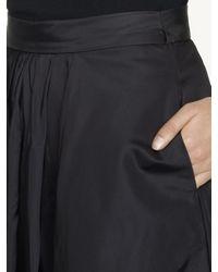 Ralph Lauren Black Label - Black Silk Taffeta Melodie Skirt - Lyst