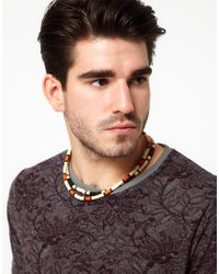 ASOS - Black Stone Look Plugs for Men - Lyst