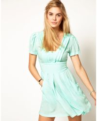 Pepe Jeans | Spot Tulip Dress | Lyst