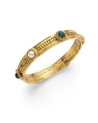 Ben-Amun | Metallic Byzantine Bangle | Lyst