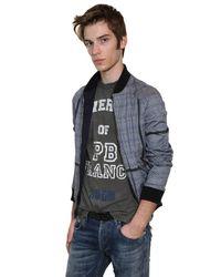 Balmain | Blue Denim Shirt for Men | Lyst