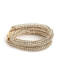 BaubleBar | Metallic Golden Shadow Bracelet | Lyst