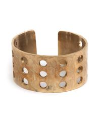 Kelly Wearstler | Metallic Howlite Cabochon Perforated Cuff | Lyst