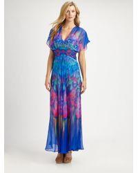 Gottex | Multicolor Silk Beach Dress | Lyst