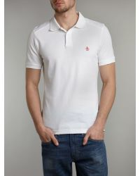 Original Penguin - White Regular Fit Classic Daddy Polo Shirt for Men - Lyst