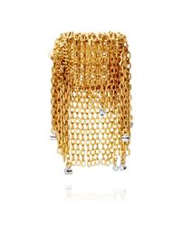 Solange Azagury-Partridge - Metallic Fringe Ring - Lyst