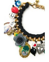 Venessa Arizaga - Black Paraiso Tropical Bracelet - Lyst