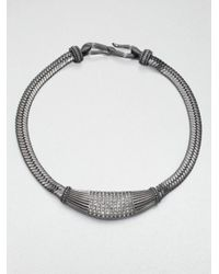Giles & Brother | Metallic Hippolyta Collar Necklace | Lyst