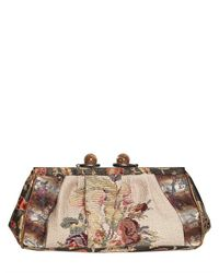 Antonio Marras Multicolor Vintage Patchwork Clutch