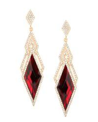 BaubleBar | Metallic Ruby Deco Dia Drops | Lyst