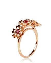 Bliss Rose - Multicolor Marguerite Ring - Lyst