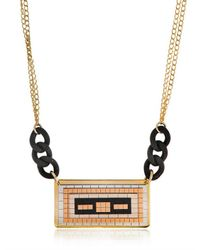Hirschell   Metallic Pixel 1 Necklace   Lyst