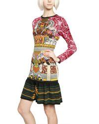 Mary Katrantzou | Multicolor Intarsia Knitted Dress | Lyst