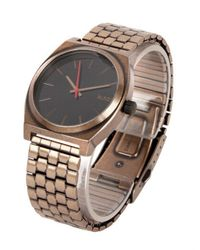 Nixon | Gold Time Teller Watch for Men | Lyst