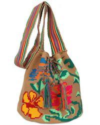 Sophie Anderson - Brown Hand Woven Large Shoulder Bag - Lyst