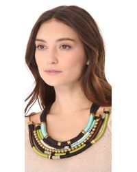 Holst + Lee - Multicolor Forest Through The Trees Necklace - Lyst