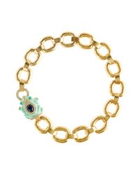 J.Crew | Metallic Enameled Frog Collar Necklace | Lyst
