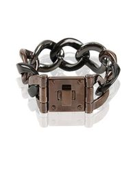 Michael Kors | Gray Turn-Lock Bracelet | Lyst