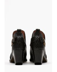 Nasty Gal - Black Robinson Ankle Boot - Lyst