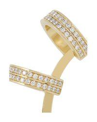 Repossi - Metallic Berbère 18karat Gold Diamond Ear Cuff - Lyst